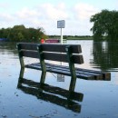 flooded bench by Gavin Spencer