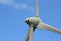 wind turbine by Colin Brough via Freeimages