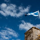 scotland flag by Barney Moss via flickr