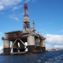 oil rig scotland by Steven Straiton via Flickr