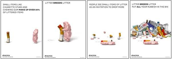 INCPEN litter campaign