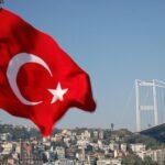 Bosphorus Bridge and Turkish Flag via Flickr KLMircea