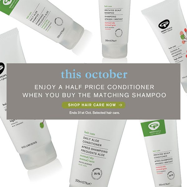 Green People October Offer
