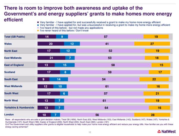 NatWest Energy Uptake and Awareness