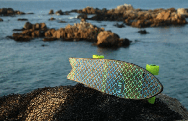 Ocean Waste into Skateboards