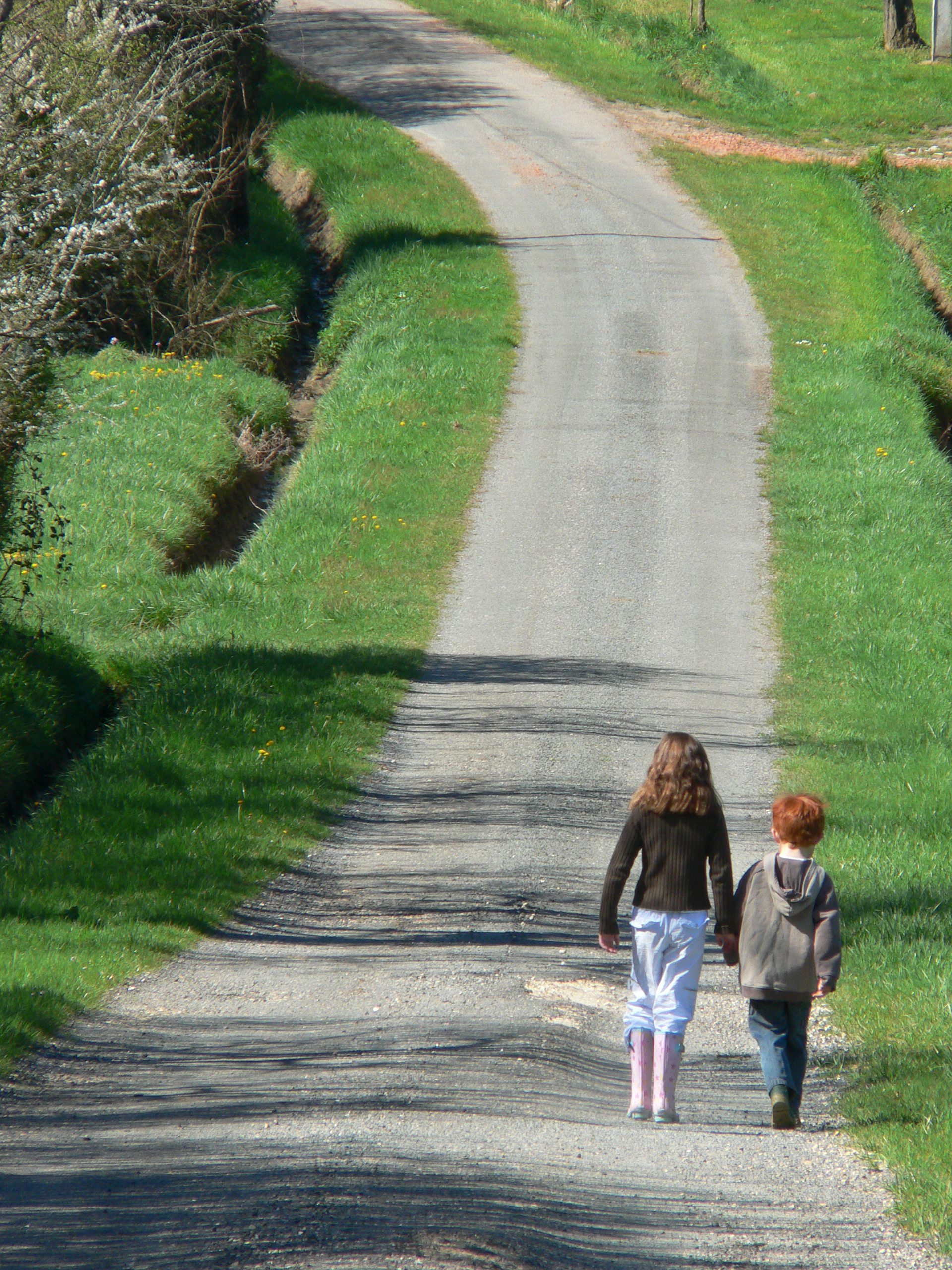 We Make The Road By Walking With Kids