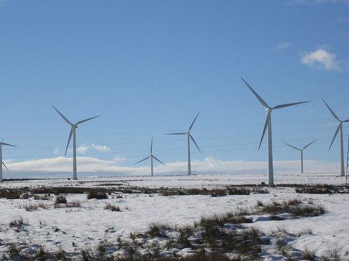 scotland wind farm by Gary Denham via flickr