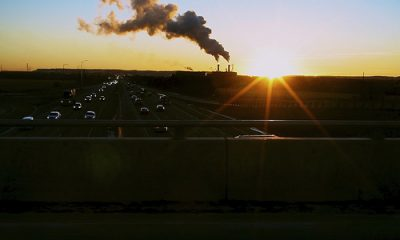 pollution sunset By Spring Reilly via Flickr