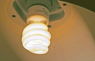 energy saving bulb by Liz West via flickr