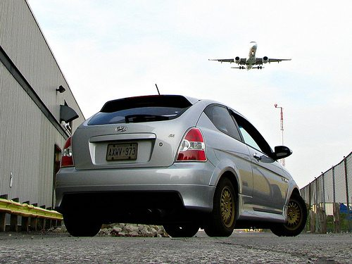 car and plane by MSVG via flickr