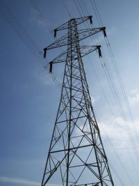 electricity pylon by Lydia via flickr