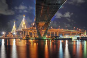 Bangkok - Bhumibol Bridge by Mike Behnken via Flikr