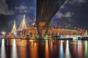 Bangkok - Bhumibol Bridge by Mike Behnken via Flikr