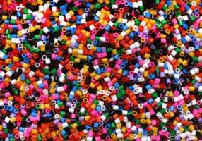 plastic hama beads