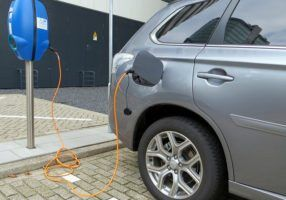 electric car charging by xlibber via Flickr