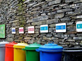 recycling bins by Dave Goodman via flickr