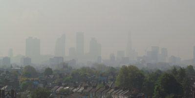 Air pollution Level 5 by David Holt via Flickr