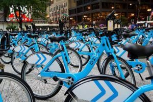 Bike sharing by Kevin Zolkiewicz via Flickr