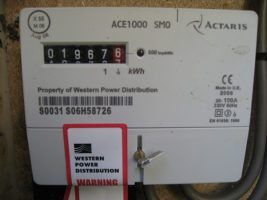 Electricity meter by Kai Hendry via Flickr