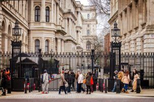 Entrance To Downing Street by Garry Knight via Flikr