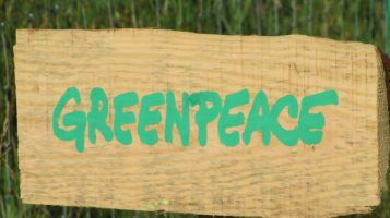 Greenpeace at Latitude 2010 by Howard LAke via Flikr