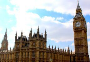 Houses of Parliament and Big Ben by Kimberley via Flckr