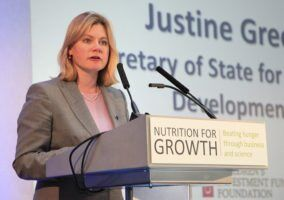 Justine Greening by Marisol Grandon via Flikr