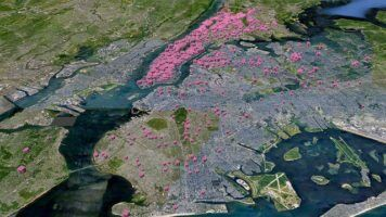 NYC Clean Heat Project - mapping local air pollution by Carbon Visuals via Flckr