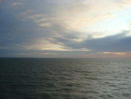 North Sea Sunet artq55
