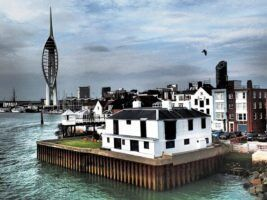 Portsmouth Harbour by SarahTZ via Flickr