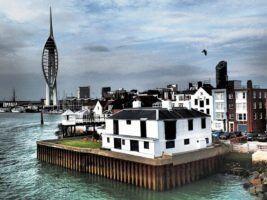 Portsmouth Harbour by SarahTZ via Flickr