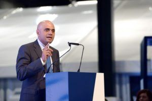 Sajid Javid, UK Secretary of State for Business, Innovation and Skills, about the UK government's initiatives in manufacturing by Richter Frank-Jurgen via Flickr