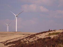 Scout Moor Wind Farm by Gidzy via Flikr