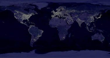 The Night Lights of Planet Earth by woodleywonderworks via Flickr