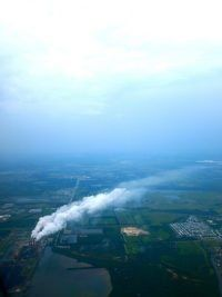 pollution aerial