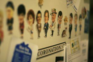 coronation street magnets by michelle tribe via flikr