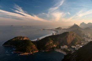 Rio de Janeiro as seen from Sugaloaf mountain by Chrisitan Haugen via Flikr