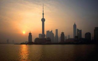 Shanghai,China,Pudong,dawn by 一元 马 via Flkr