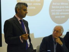 Rt Hon Sadiq Khan by Policy Exchange via Flikr