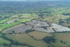 Charity Solar Farm Aerial View