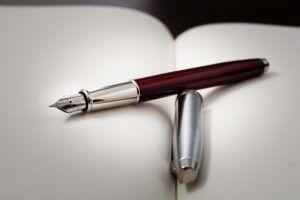 Pen on paper by Dinuraj K via Flickr