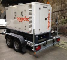 Quick And Small Mobile Generator For Reliable Signalling Power Launched By Aggreko