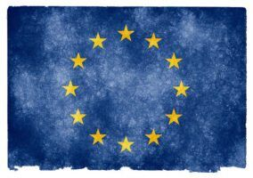 EU Grunge FLag by Nicholas via Flickr