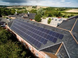 Solar Power Project From Whitbread Up For Energy Award