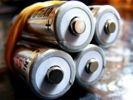 batteries by Rob Nunn via Flickr