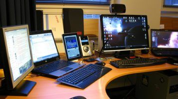 computers by Robert via flickr