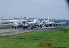 plane queue
