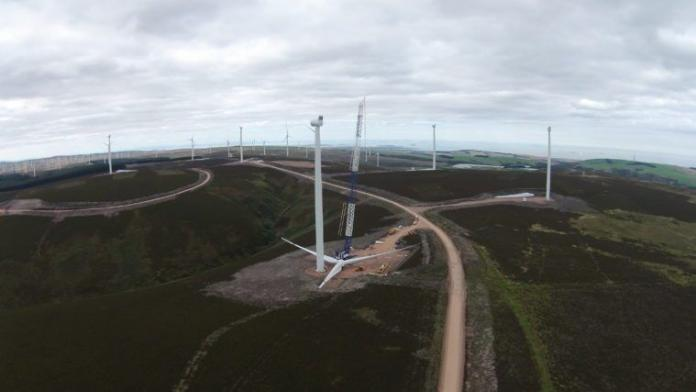 Aikengall IIa Community Wind Farm Given Go Ahead By Scottish Government