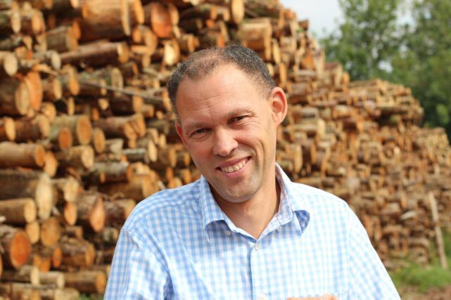 Wood Fuel Innovator Peter Recognised For Green Achievements