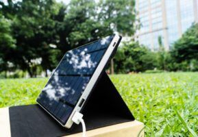 Launch Of Pioneering Solar Charger With USB-C